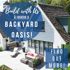 Build with us & receive a backyard oasis!